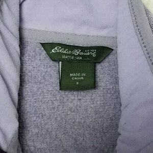 Eddie Bauer Tops - Eddie Bauer Lavender Full Zip Knit Fleece Jacket
